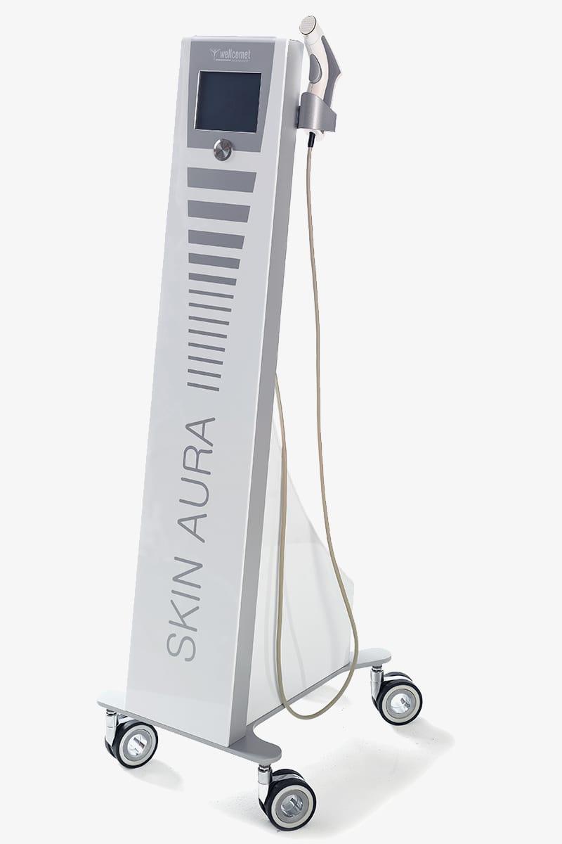 Anti-Aging Konstanz - Behandlung mit dem SKIN AURA-Gerät